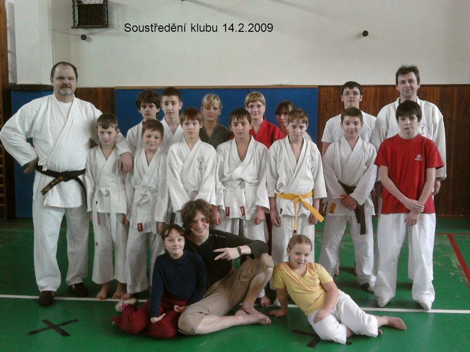 Soustředění klubu 14.2.2009