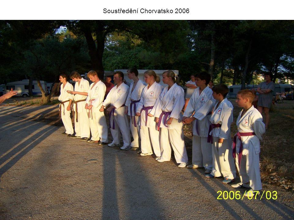 Soustředění Chorvatsko 2006