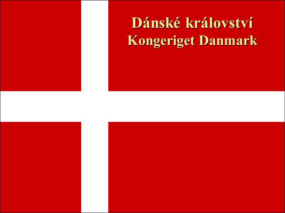 Poloha země ležící v severní Evropě Spolu s Grónskem a Faerskými ostrovy tvoří státní celek Dánské království Dánsko je nejmenší ze skandinávských zemí, neleží však na Skandinávském poloostrově Je tvořeno Jutským poloostrovem, ostrovy Fyn, Sjælland a stovkami dalších menších ostrovů Na východě je omýváno Baltským mořem a na západě mořem Severním.