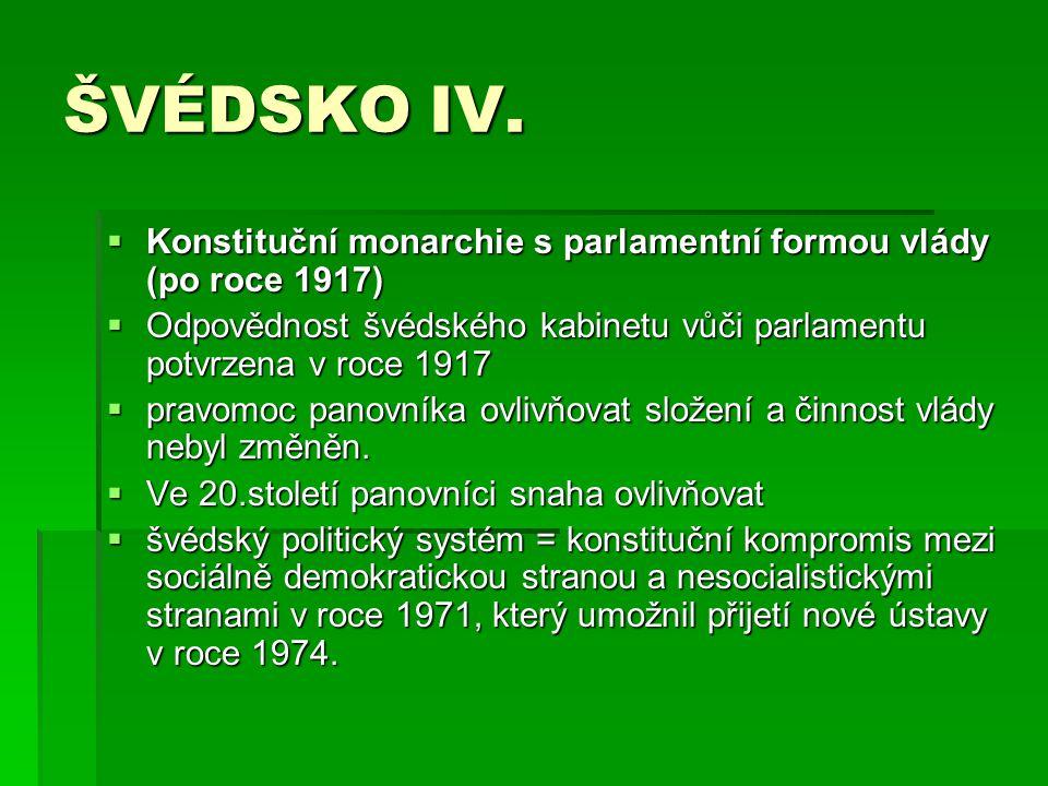 ŠVÉDSKO V.