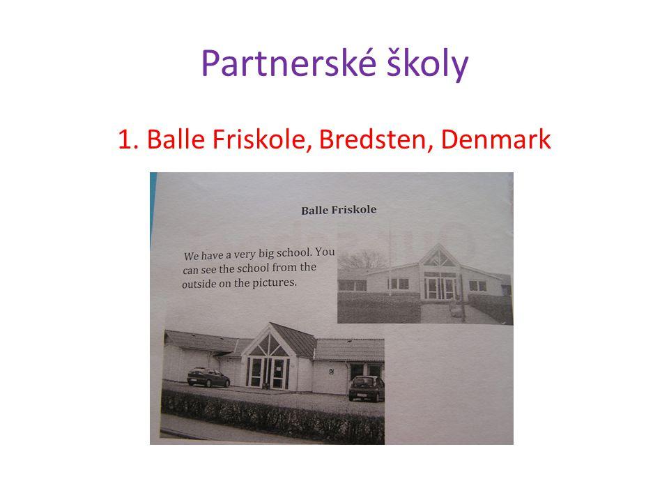 Partnerské školy 1. Balle Friskole, Bredsten, Denmark