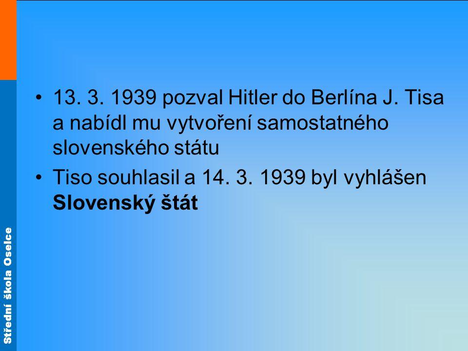 Střední škola Oselce obratem ve válce se stala bitva o Stalingrad (začátek 23.