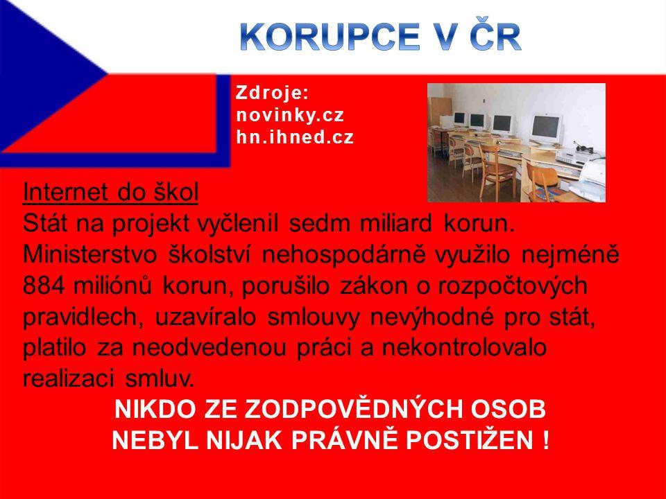 Internet do škol Stát na projekt vyčlenil sedm miliard korun.
