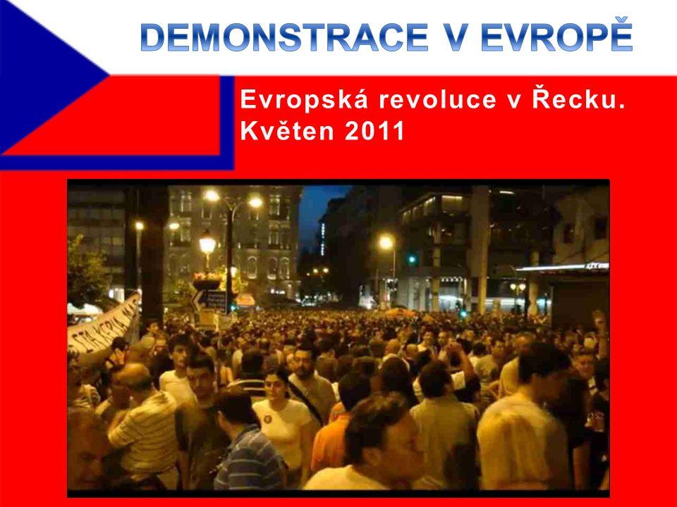Evropská revoluce v Řecku. Květen 2011