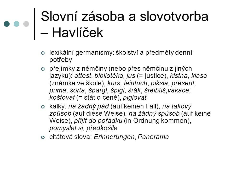 Literatura QUIS, L., ed.(1903): Korespondence Karla Havlíčka.
