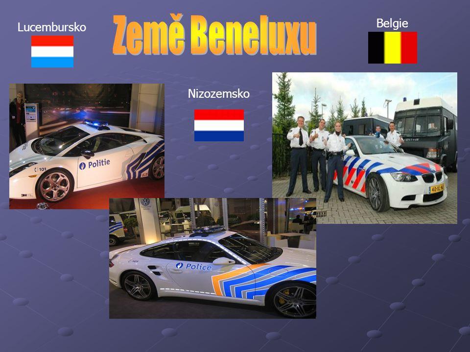 Lucembursko Nizozemsko Belgie