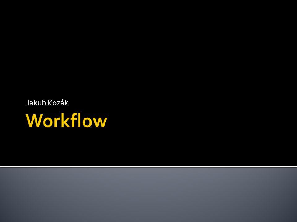  Založený na mailových zprávách (mail-based) zasílání úloh a dokumentů mailem  Založený na databázovém systému (database- based) uložení dokumentů a informací o procesech v databázi, do které musí agenti (uživatelé, aplikace...) přistupovat  Tento způsob je výhodnější pro řízení workflow  Lze využít všechny výhody DBMS, včetně jejich implementace řízení transakcí  Implementace WFMS pomocí aktivní DB