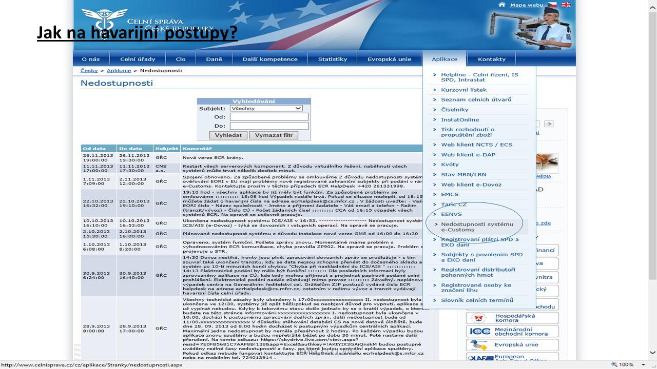 SMSK 12.12.2013 Jak na havarijní postupy?