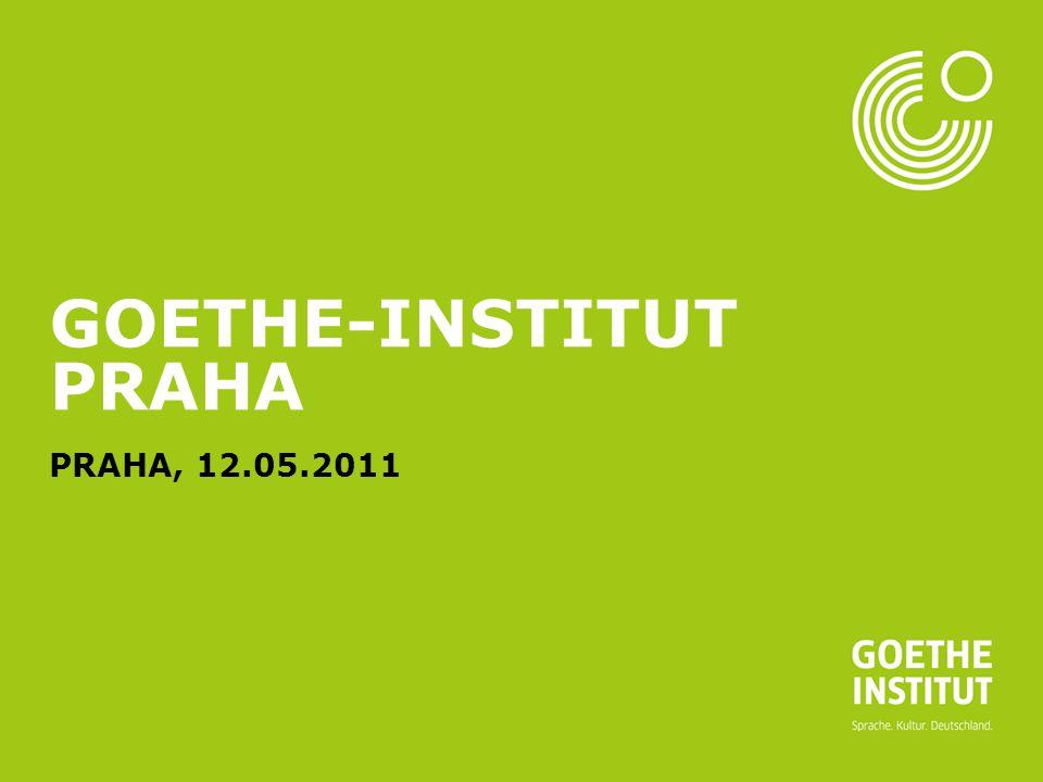 Seite 1 GOETHE-INSTITUT PRAHA PRAHA, 12.05.2011
