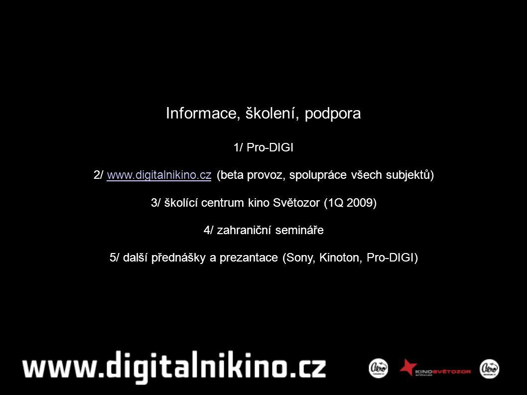 Digitalizace v ČR dle DCI Děkuji Petr Vítek petr.vitek@kinoaero.cz