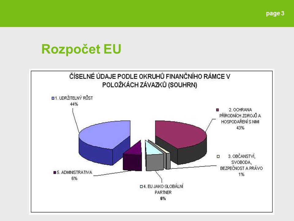 Rozpočet EU page 3