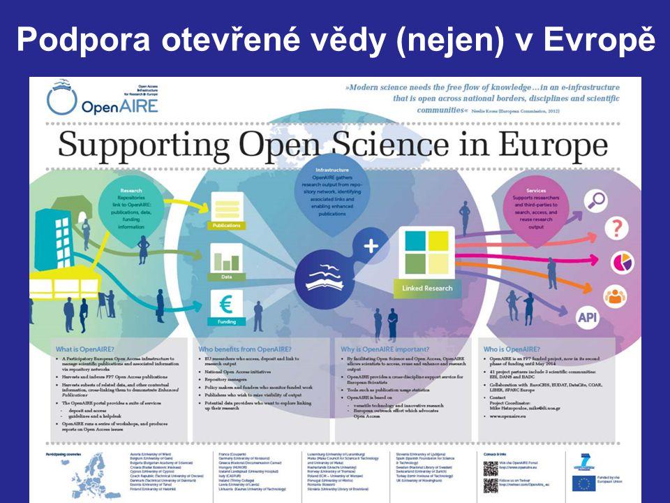 23 Podpora otevřené vědy (nejen) v Evropě