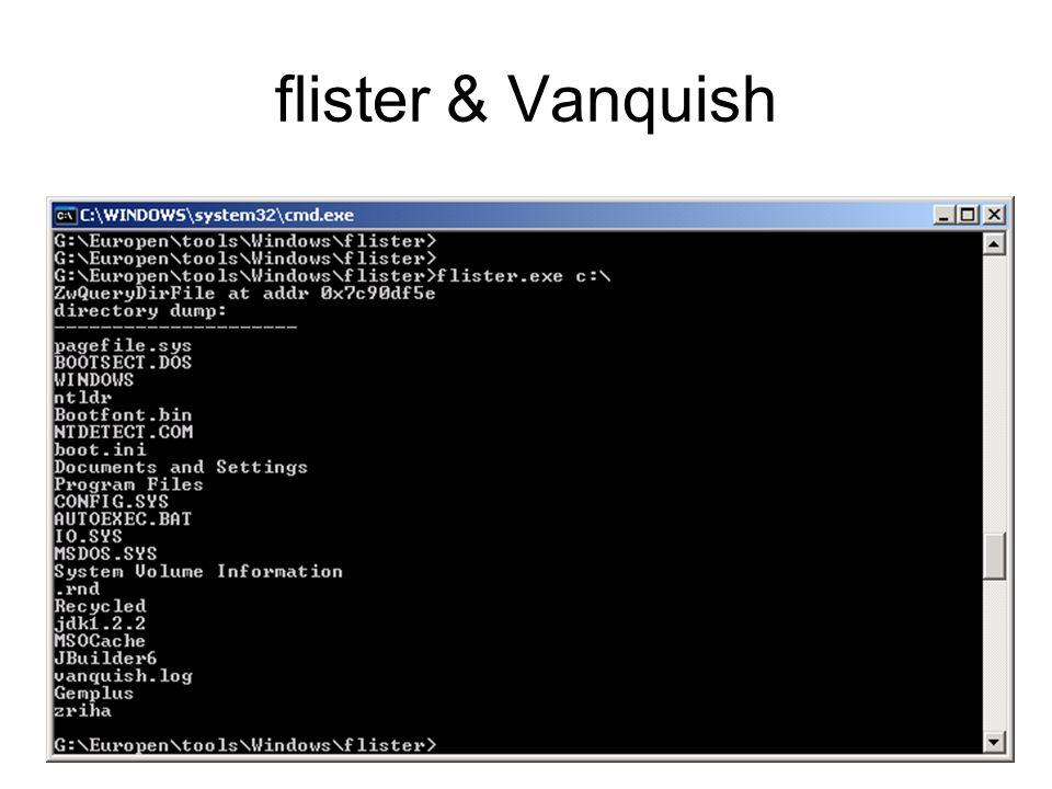 flister & Vanquish