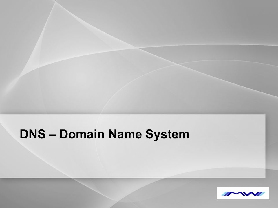 YOUR LOGO DNS – Domain Name System