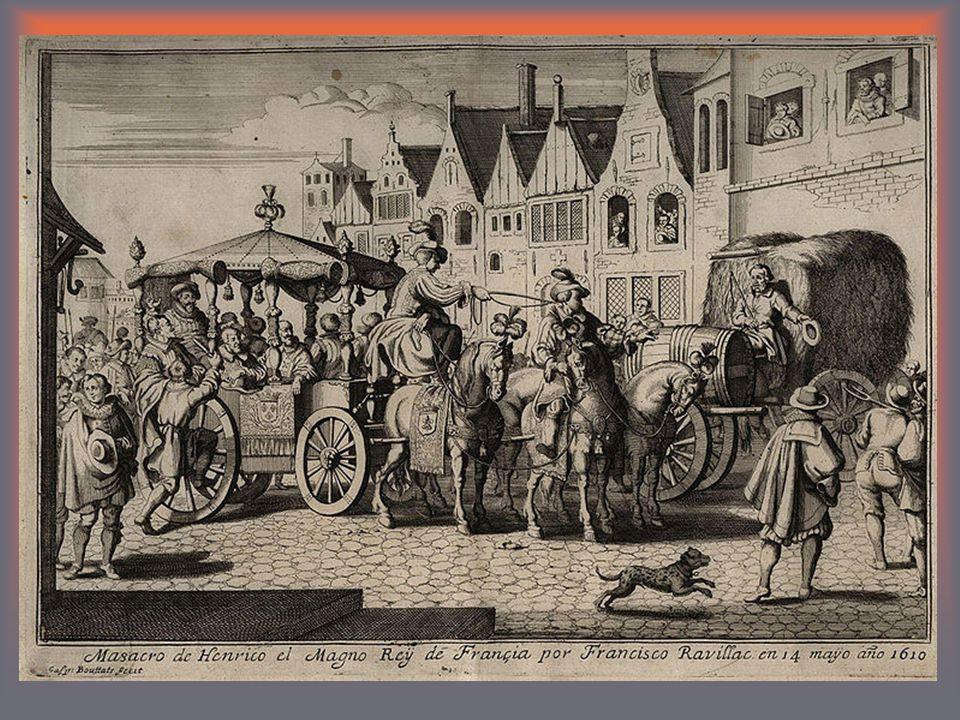 1598 – edikt nantský1598 – edikt nantský politická práva pro hugenoty, autonomie měst sňatek s Marií Medicejskou celkem 14 dětí (8 nemanželských) 1610zavražděn1610 zavražděn katolickým fanatikem F.