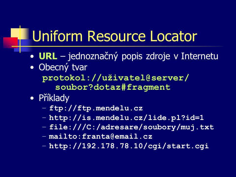 Přehled nejdůležitějších HTML značek Přeškrtnuté písmo [p] nebo Poznámka v textu [p] Poznámka pod čarou [p] Citát [p] Předformátovaný text [p] Uspořádaný seznam [p] Neuspořádaný seznam [p] Výkladový seznam [p] Položka (ne)uspořádaného seznamu [p] Položka výkladového seznamu [p]