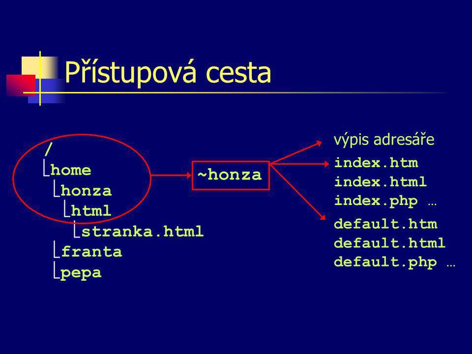 Jazyk HTML HTML = HyperText Markup Language Relativně jednoduchý značkovací jazyk pro tvorbu dokumentů využívaných službou WWW (World Wide Web) Dokument v jazyce HTML je tvořen čistým textem a formátovacími značkami, které určují podobu textu při zobrazení na obrazovce