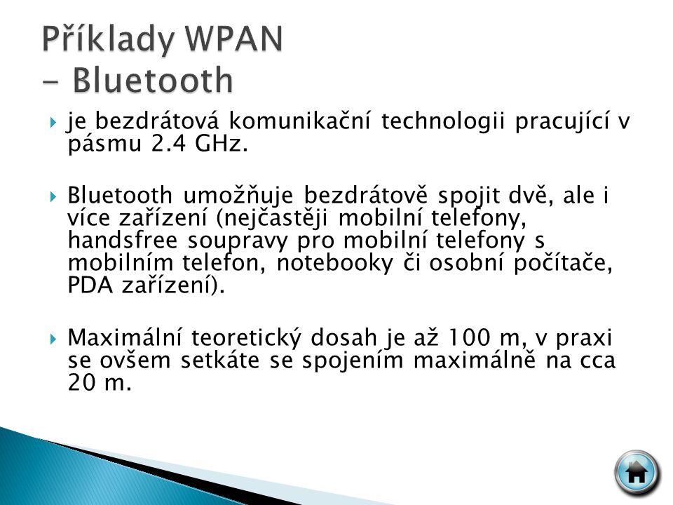  je bezdrátová komunikační technologii pracující v pásmu 2.4 GHz.