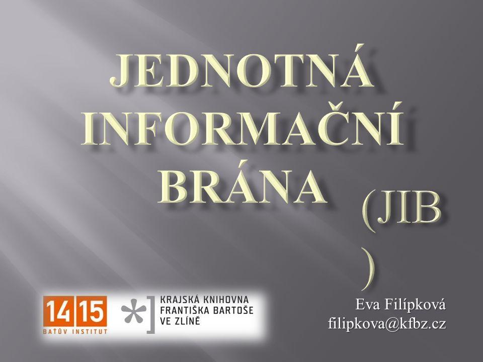 Eva Filípková filipkova@kfbz.cz