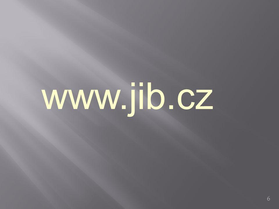 6 www.jib.cz