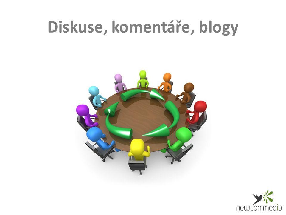 Diskuse, komentáře, blogy