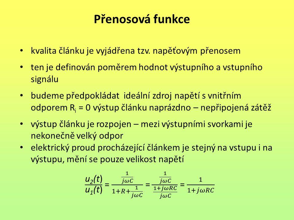Přenosová funkce