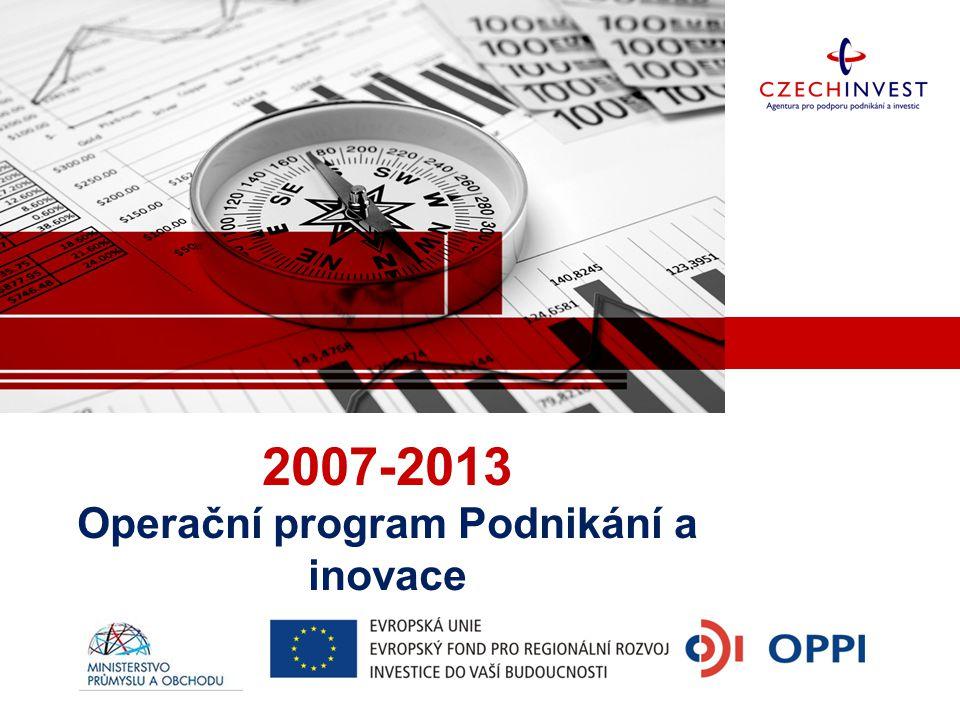 2007-2013 Operační program Podnikání a inovace