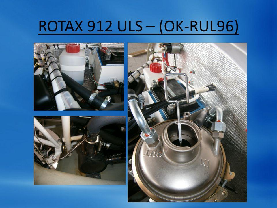 OMEZENÍ Otáčky motoru: 5800, 5500, 1400 Olej tlak: 0.8, 2-5, 7 bar Olej teplota: 50, 90-110 (100), 130 °C Hlavy teplota: max.