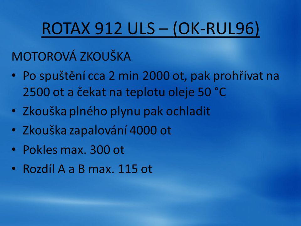 DRAK – (OK-RUL96)