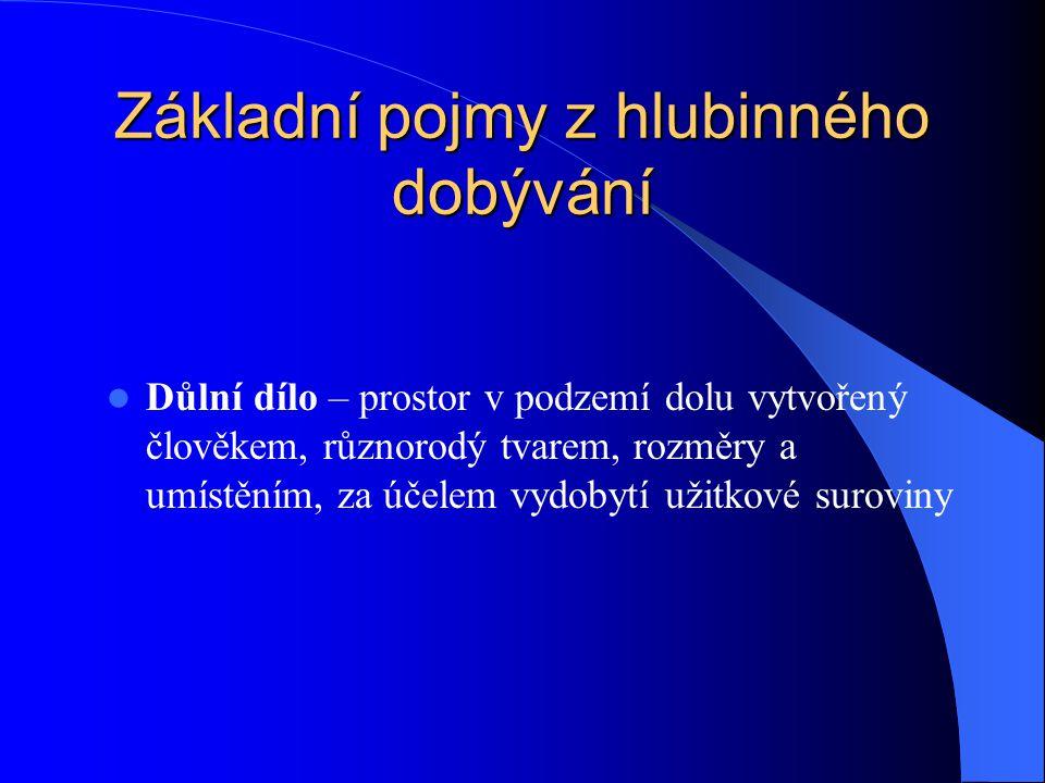 Podle převažujícího rozměru Dlouhá d.d.– vodorovná nebo úklonná d.d.