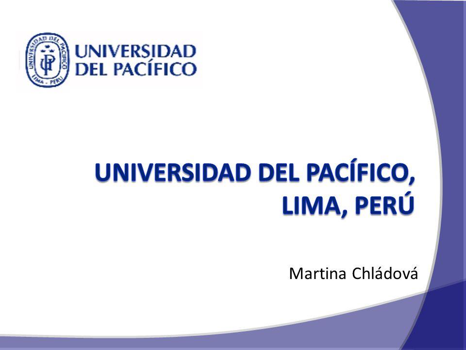 O BSAH Peru Universidad del Pacífico Doporučení Prostor pro dotazy 2