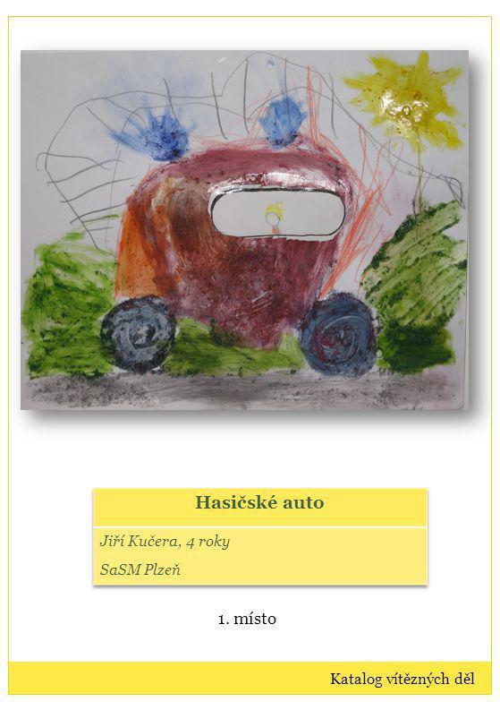 Výtvarná díla: kategorie II Vítězná díla dětí ve věku 7-10 let Katalog vítězných děl