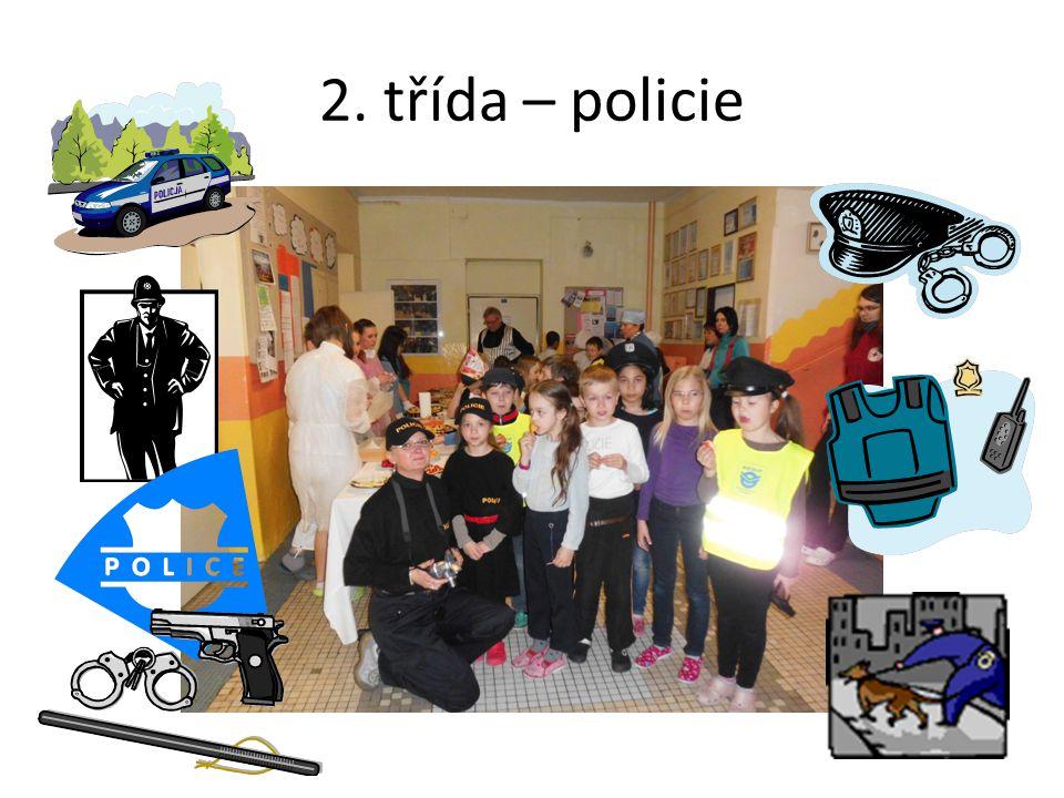 2. třída – policie