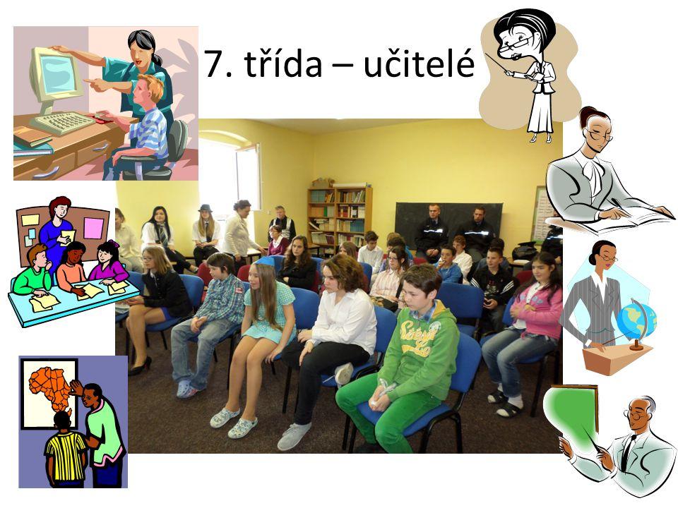 7. třída – učitelé