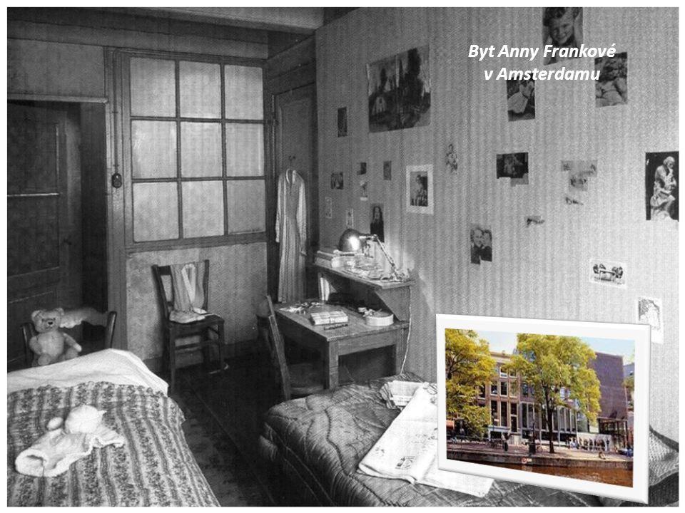 Byt Anny Frankové v Amsterdamu