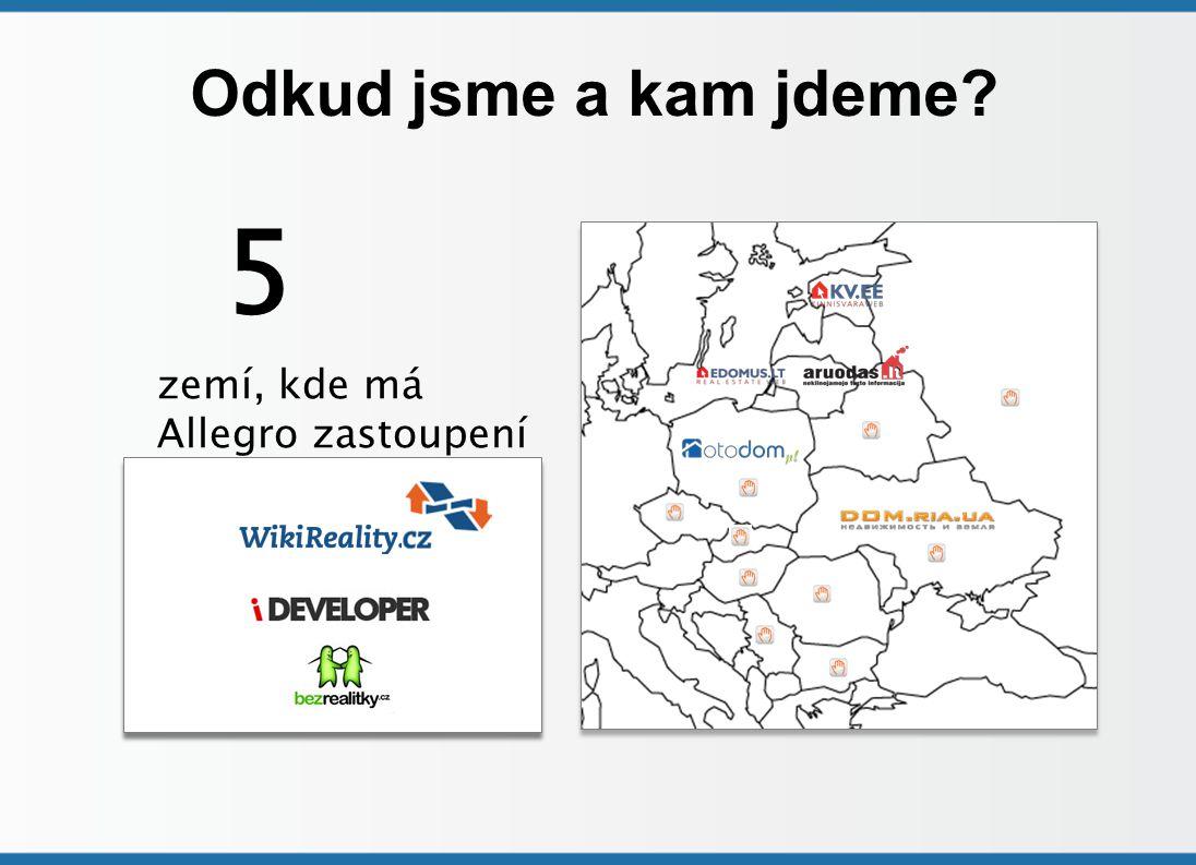 Odkud jsme a kam jdeme 5 zemí, kde má Allegro zastoupení
