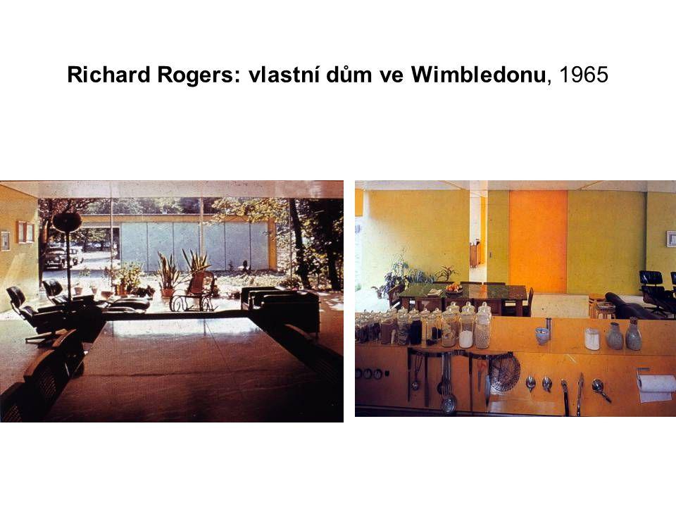 Richard Rogers: vlastní dům ve Wimbledonu, 1965