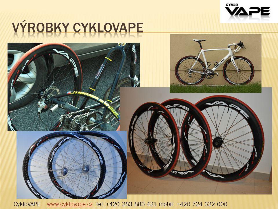 CykloVAPE www.cyklovape.cz tel.:+420 283 883 421 mobil: +420 724 322 000www.cyklovape.cz
