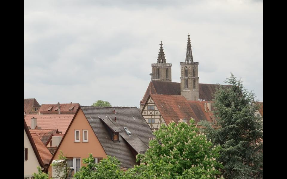 Pohledy na město z hradeb