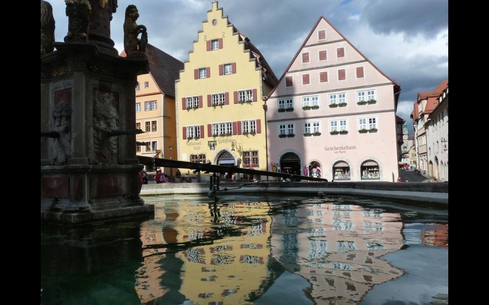 Jedna z bran města Rothenburg