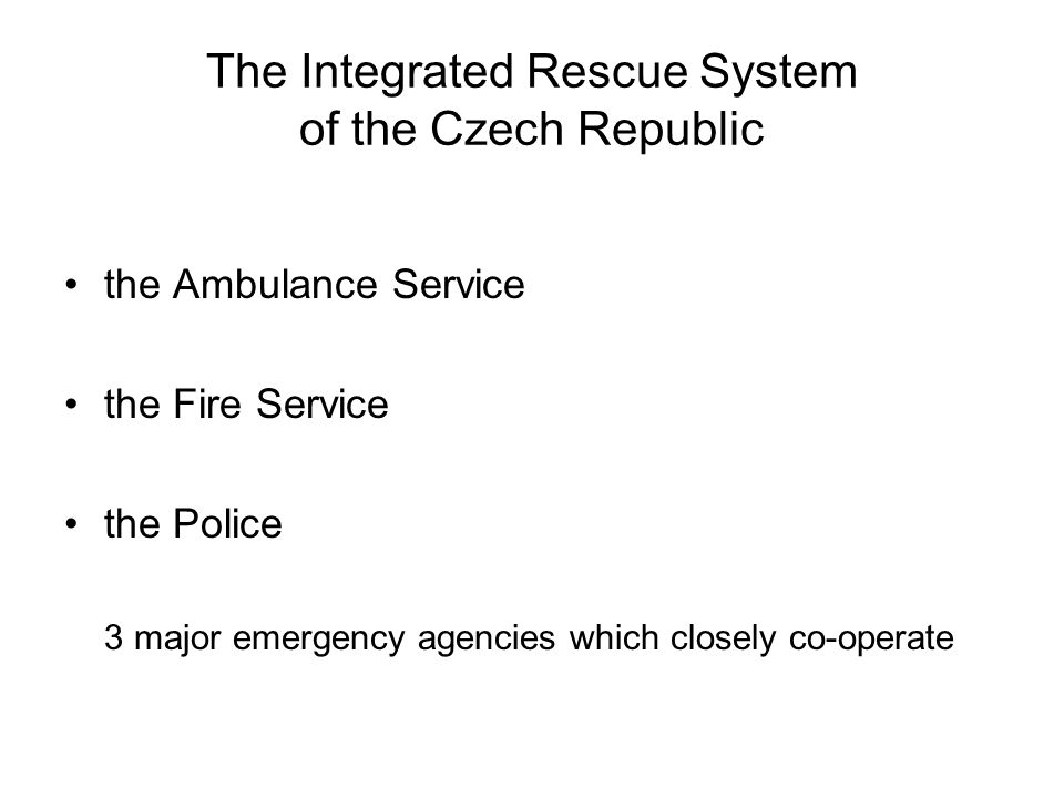 Try to guess the meanings ambulance service respond co-ordinate on-site response determine casualty provide emergency responsibility