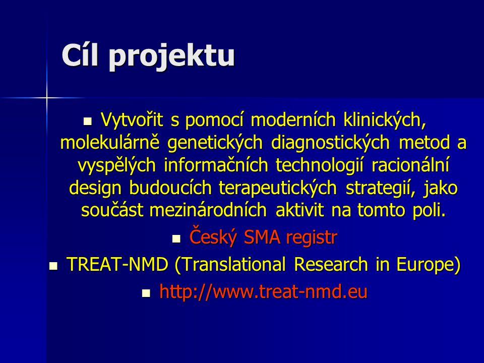 Vytvořit s pomocí moderních klinických, molekulárně genetických diagnostických metod a vyspělých informačních technologií racionální design budoucích