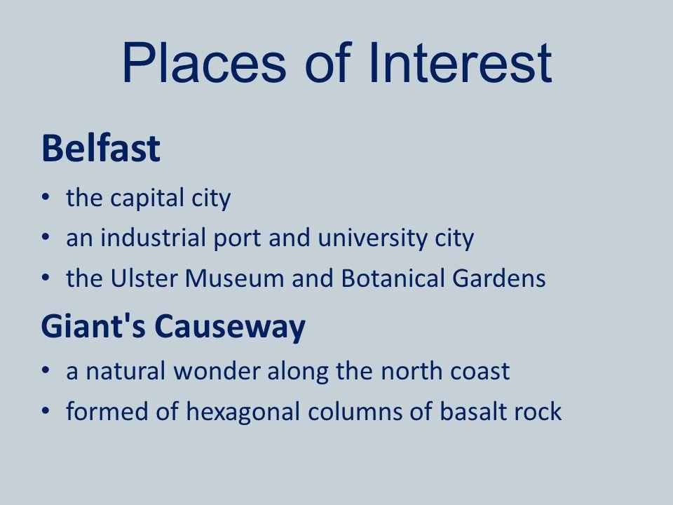 Belfast/Giant s Causeway Zdroj: [cit.2013-03-22].