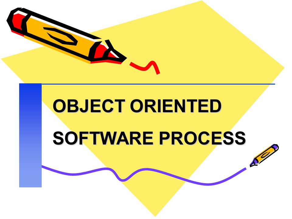 OBJECT ORIENTED SOFTWARE PROCESS