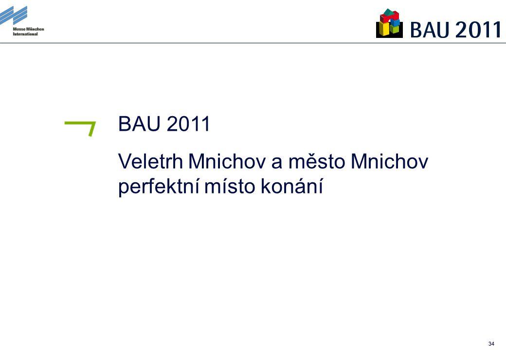34 BAU 2011 Veletrh Mnichov a město Mnichov perfektní místo konání