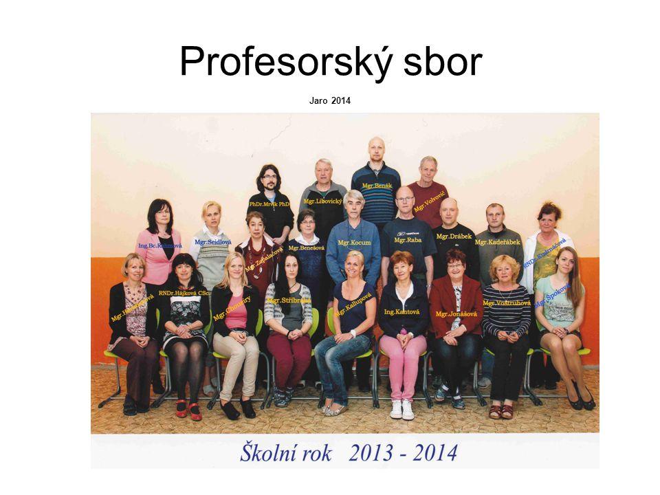Profesorský sbor Jaro 2014