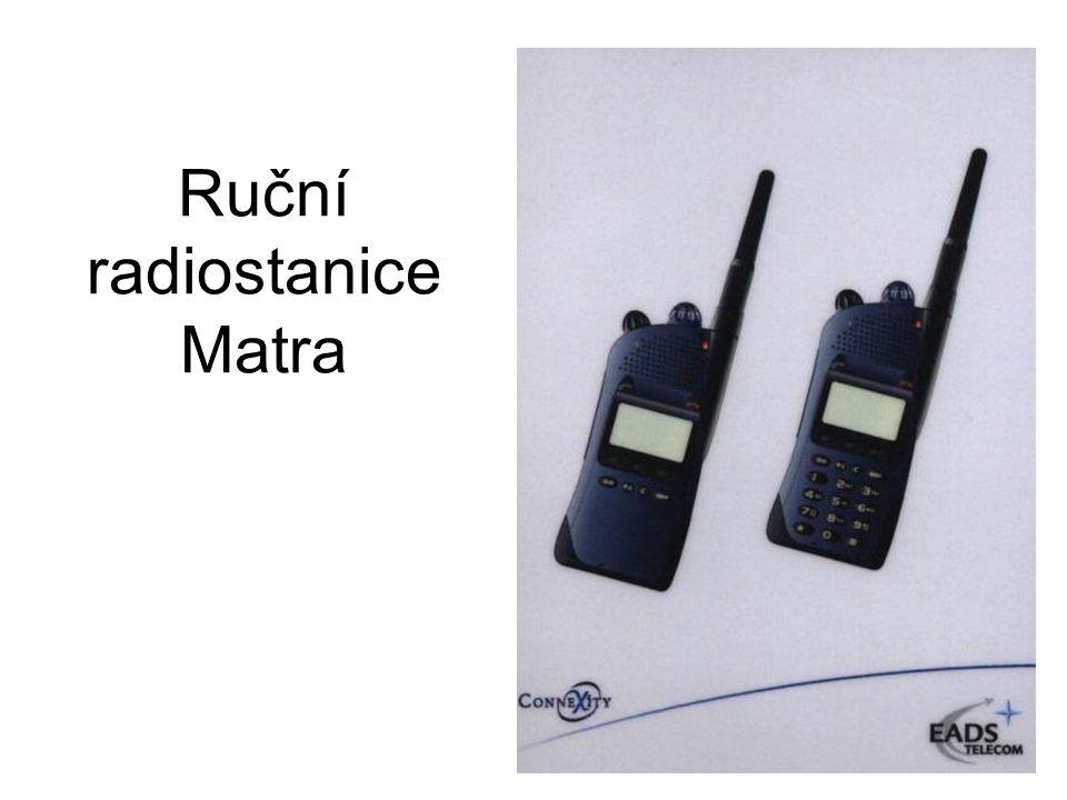 Ruční radiostanice Matra