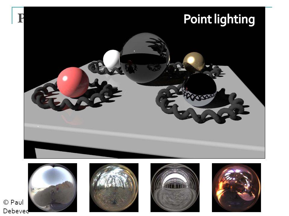 24 Point Light Source © Paul Debevec