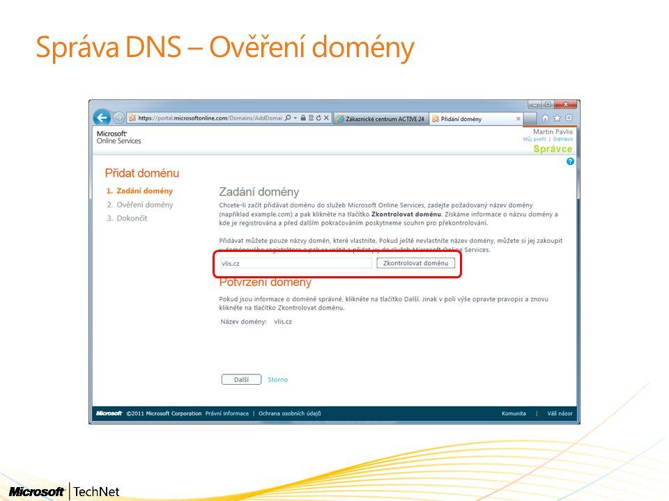OFFICE 365 Předávání autentizace Office 365 na on-premise Active Directory ADFS