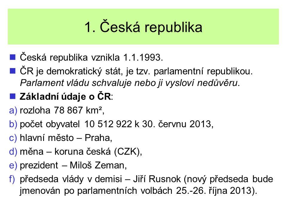 Úlohy Zakroužkuj správnou odpověď.1. Česká republika je stát demokratický/ nedemokratický.